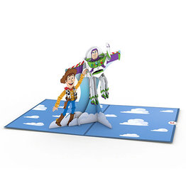 Lovepop Lovepop Disney Pixar Toy Story Woody and Buzz 3D Card