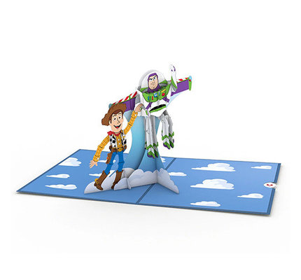 Lovepop Disney Pixar Toy Story Woody and Buzz 3D Card