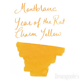Montblanc Montblanc Bottled Ink The Rat: Charm Yellow