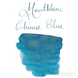 Montblanc Montblanc Blue Palette Chinese Blue - 30ml Bottled Ink