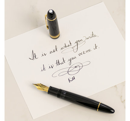 Montblanc Montblanc Meisterstuck 149 Calligraphy Flex Fountain Pen
