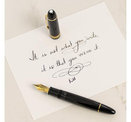 Montblanc Montblanc Meisterstuck 149 Calligraphy Flex Nib Fountain Pen
