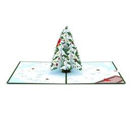 Lovepop Night Before Christmas Tree 3D Card
