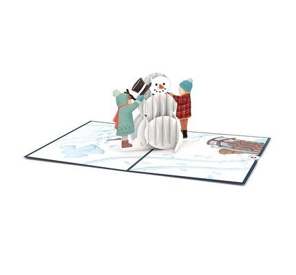 Lovepop Night Before Christmas Snowman 3D Card