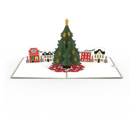 Lovepop Lovepop Christmas Tree Village 3D Card