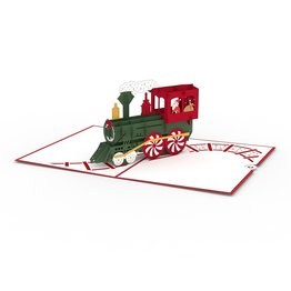 Lovepop Santa Train 3D Card