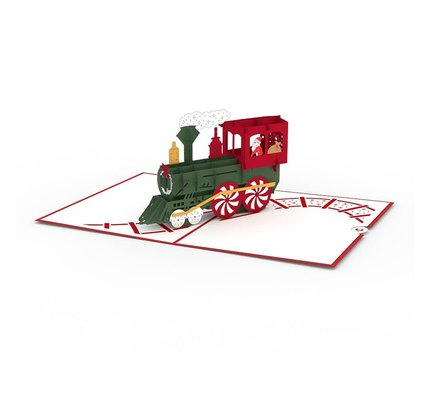 Lovepop Lovepop Santa Train 3D Card