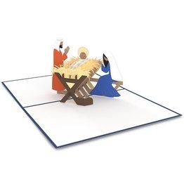 Lovepop Manger Scene 3D Card