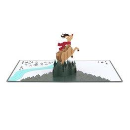 Lovepop Lovepop Rudolph 3D Card