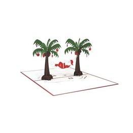 Lovepop Santa Hammock 3D Card