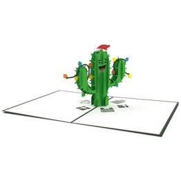 Lovepop Lovepop Holiday Cactus 3D Card