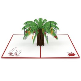 Lovepop Lovepop Festive Palm Tree 3D Card