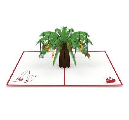 Lovepop Festive Palm Tree 3D Card