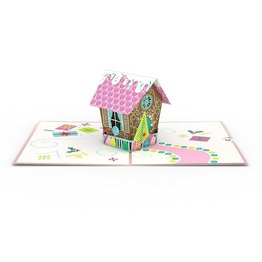 Lovepop Gingerbread House 3D Card