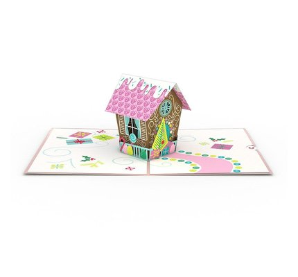Lovepop Lovepop Gingerbread House 3D Card
