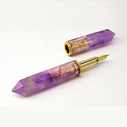 S. T. Dupont S.T. Dupont Haute Creation Collection Amethyst Fountain Pen