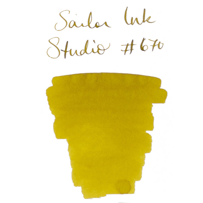 Sailor Sailor Ink Studio # 670 - 20ml Bottled Ink