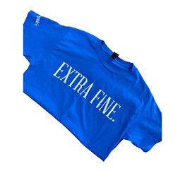 Dromgoole's Dromgoole's Royal Blue Extra Fine T-Shirt
