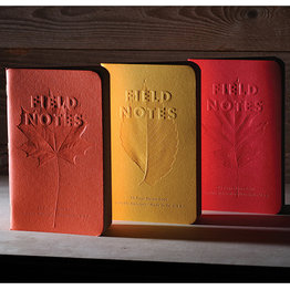 Field Notes Limited Edition Autumn Trilogy 2019 Ruled 3-Pack