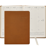 Graphic Image Graphic Image Leather 2020 Desk Diary