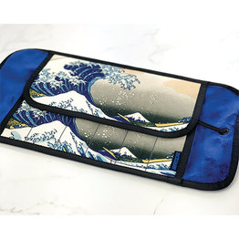 Rickshaw Deluxe 6-Pen Great Wave Pen Roll