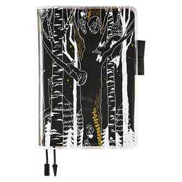 """Hobonichi Hobonichi Cover on Cover for Cousin """"Hide and Seek in the Forest"""""""