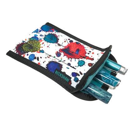 Rickshaw 3 Pen Plush Coozy Ink Splatter
