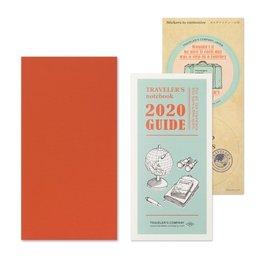Traveler's Notebook Refill 2020 Monthly
