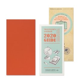 Traveler's Notebook Refill 2020 Monthly