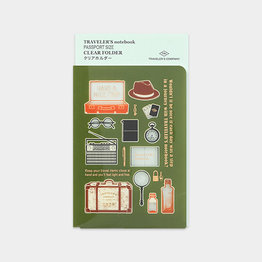 Traveler's Traveler's Notebook Passport 2020 Clear Folder