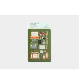 Traveler's Traveler's Notebook Passport 2020 Clear Folder