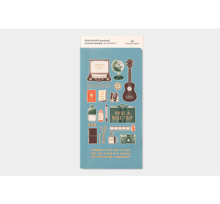 Traveler's Traveler's Notebook 2020 Clear Folder
