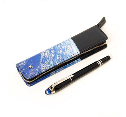 Montblanc Montblanc Meisterstuck Starwalker 1-Pen Pouch Zip Around Cosmos Black