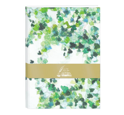 Clairefontaine Clairefontaine Hedera A5 Blank Guestbook
