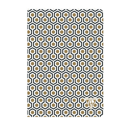 Clairefontaine Clairefontaine #192636 Neo Deco Honeycomb Lined Notebook 6 x 8.25