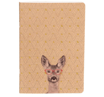 Clairefontaine Funny Company Lined Notebook