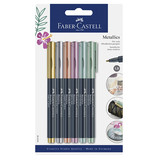Faber-Castell Faber-Castell Metallic Markers 1.5mm - Set of 6