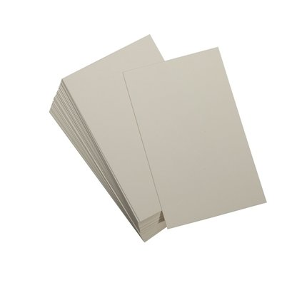Graphic Image Jotter Ecru Cards Refill 100 Count
