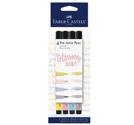 Faber-Castell Faber-Castell Pitt Artist Pen Set - Pastel