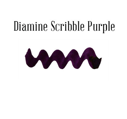 Diamine Diamine Scribble Purple - 80ml Bottled Ink