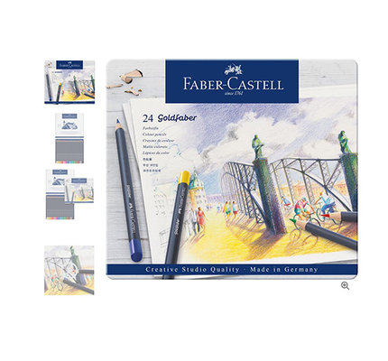 Faber-Castell Faber-Castell Goldfaber Color Pencil Set - Set of 24