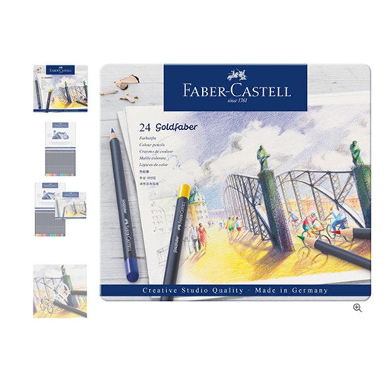 Faber-Castell Faber-Castell Goldfaber Color Pencil Set - Set of 24