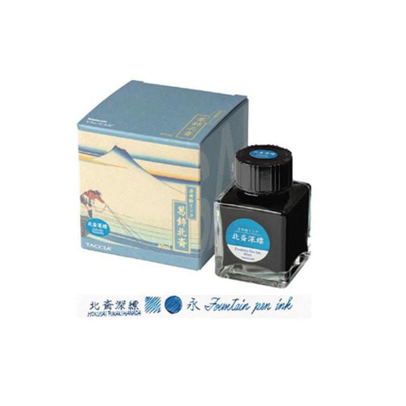 Taccia Taccia Hokusai-Fukakihanda (Light Blue) Bottled Ink