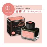 Taccia Taccia Lip Color #01 Fountain Pen Ink Coral Pink