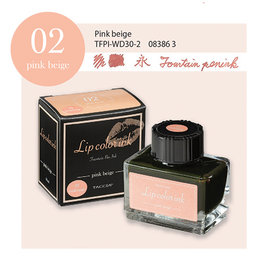 Taccia Taccia Lip Color #02 Fountain Pen Ink Pink Beige