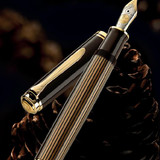 Pelikan Pelikan Special Edition M800 Brown-Black Fountain Pen