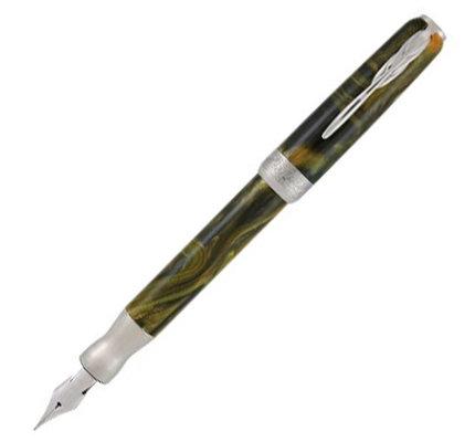 Pineider Pineider La Grande Bellezza Gemstones Tiger's Yellow Fountain Pen