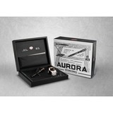 Aurora Aurora Internazionale Black and Rose Gold Fountain Pen