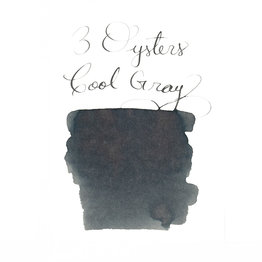 3 Oysters 3 Oysters Delicious Cool Gray - 38ml Bottled Ink
