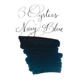 3 Oysters 3 Oysters Delicious Navy Blue - 38ml Bottled Ink